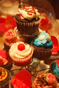 CupCakes in the Happy Day Bakery.